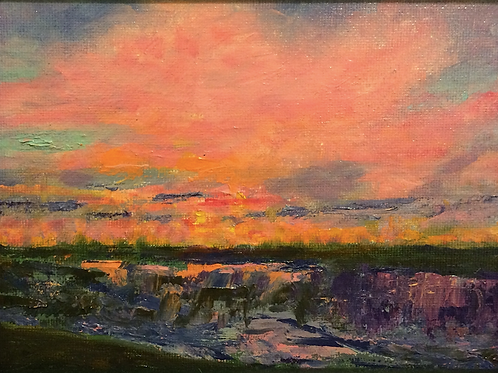 """""""Sunset"""" by Barb Yoder"""