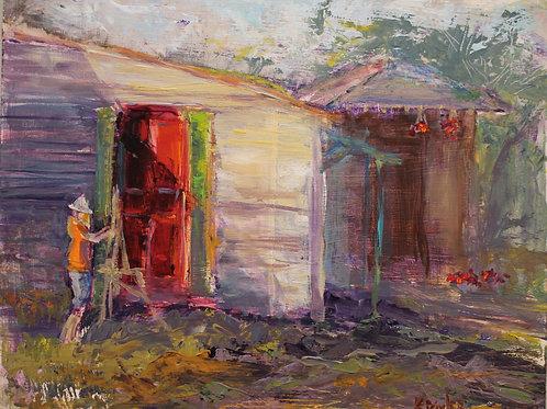 """Artist on the Job"" by Karen Bixler"
