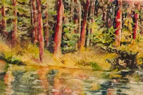 """""""River Bend"""" by Nancy Longmate"""