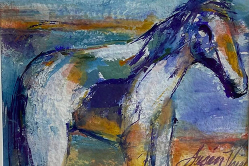 """Blue Horse"" by Susan Voigt"