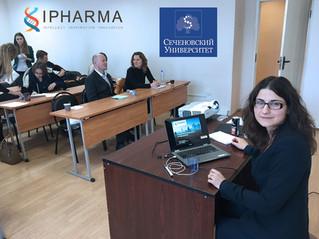IPHARMA seminar on biostatics in Sechenov University