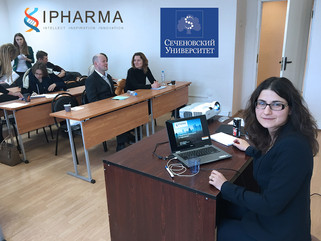 IPHARMA seminar on biostatics in Sechenov University