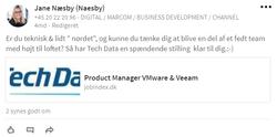 Tech Data_jobopslag