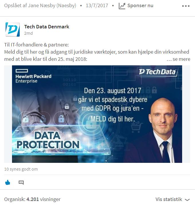Tech Data_opslag GDPR Event August 2016