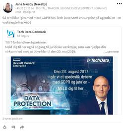 Tech Data_opslag GDPR Event