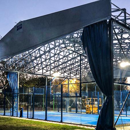 Al Blue Padel di Mirandola non si sta mai fermi, si gioca a Padel 365 giorni l'anno!