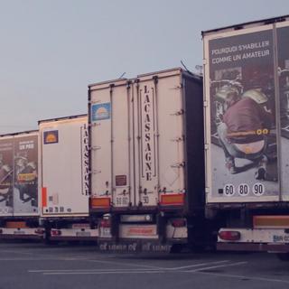 Camions publicitaires