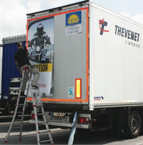 Le média camion, un canal exclusif pour vos campagnes.