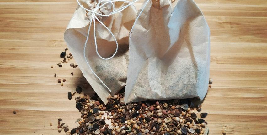 1 sachet de graines de fleurs mellifères BIO + 1 offert