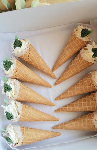 cornet cake