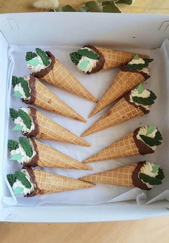 cornets cake