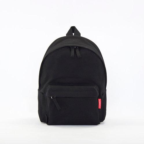 Waterproof Canvas Mini Backpack (Black)