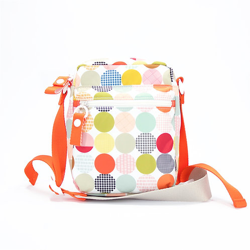 Recycled polyester printed cross shoulder bag(Multi Color)