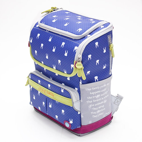 Momoco (Blue) Doppio Mini Backpack