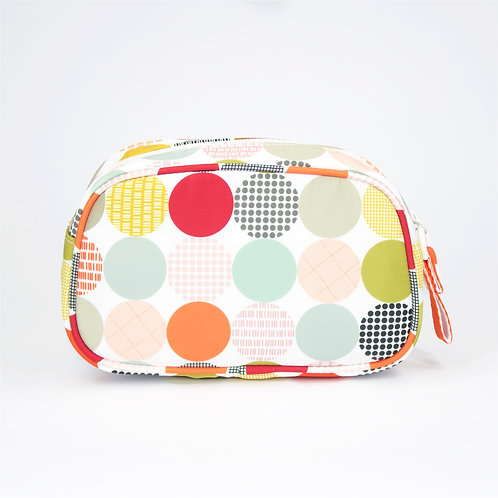 Recycled polyester printed cosmetic pouch (Multi Color)
