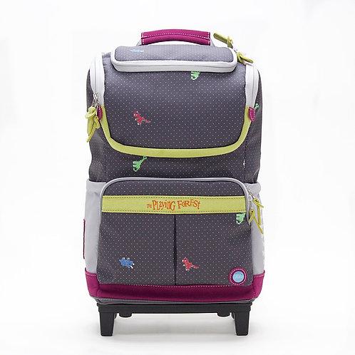 Dino (Black) Doppio Plus Backpack