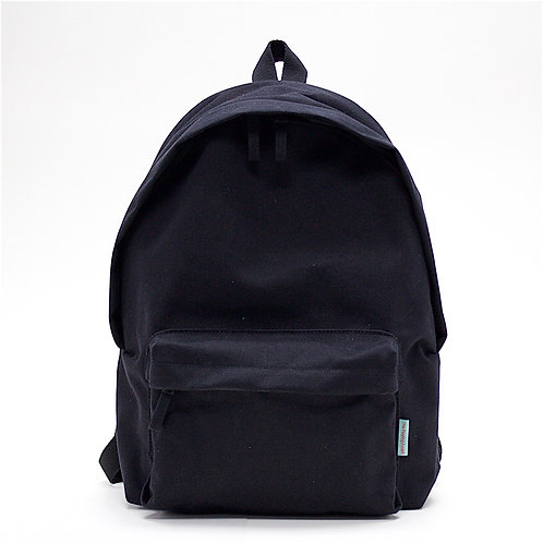 Waterproof Canvas Backpack (Black)