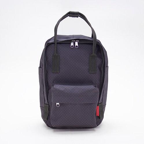 2 Ways Waterproof Mini Backpack (Charcoal/Red)
