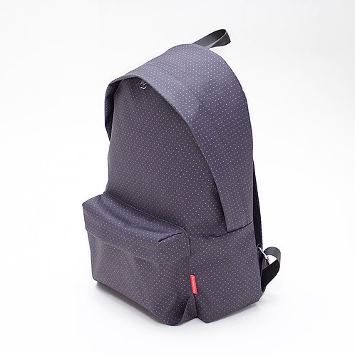 Dot Dot Backpack (Charcoal)