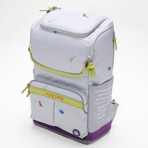 Dino (Grey) Doppio Backpack