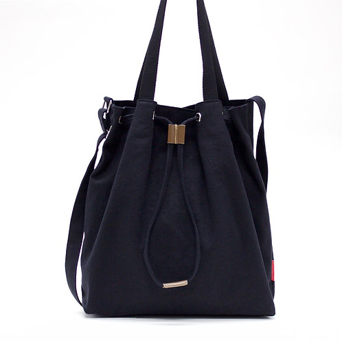 2 Ways Canvas (Black)