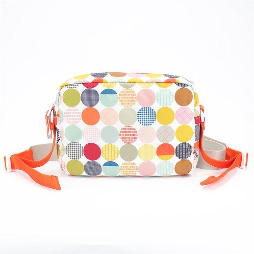 Recycled polyester floral printed cross shoulder bag(Multi color)