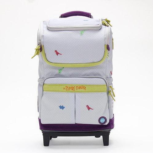 Dino (Grey) Doppio Plus Backpack
