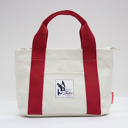 Feliz Waterproof Mini Bag (White)