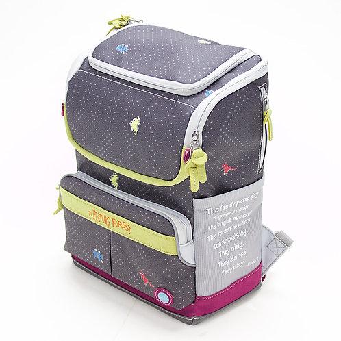 Dino (Black) Doppio Mini Backpack