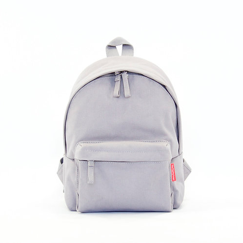 Waterproof Canvas Mini Backpack (Grey)