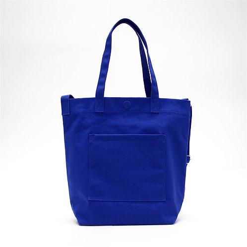 2 Ways Waterproof Tote Bag (Blue)