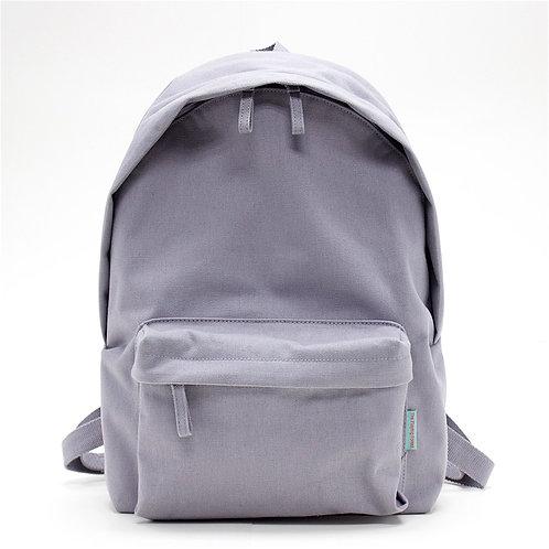 Waterproof Canvas Backpack (Grey)