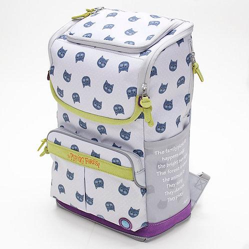 Aristocat (Grey 2) Doppio Backpack