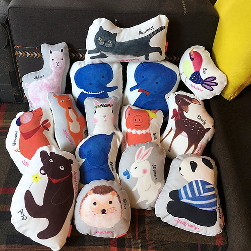 The Playing Forest Mini Cushion