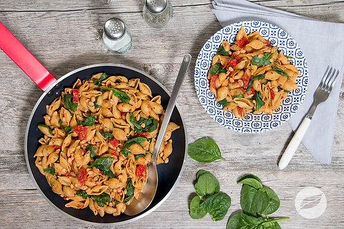 Vegetarian Tuscan Skillet