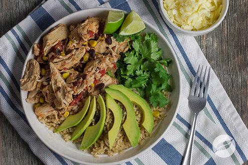 Pollo Asada Rice Bowls