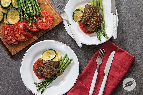 Black Peppercorn Flank Steak