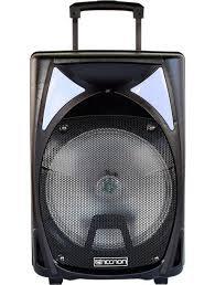 "BOCINA AMPL. NECNON 12"" NB-12B USB/FM/BL"