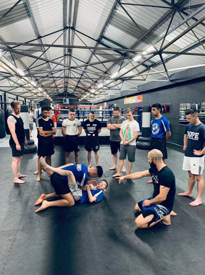 Combat Sports Centre In Action