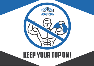 keep your top on