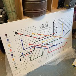 Map Design Board