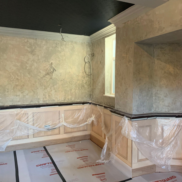 Old Plastered Wall Effect