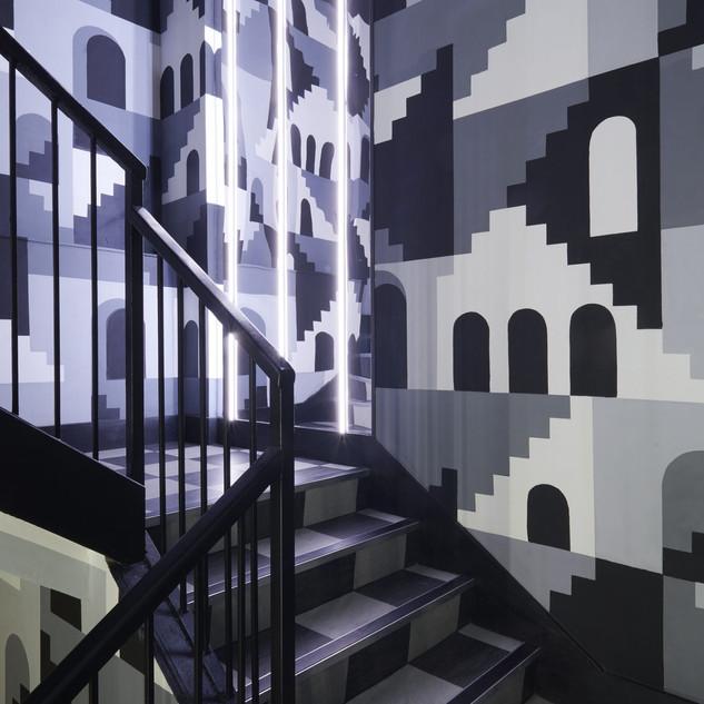 Alhambra Stairs