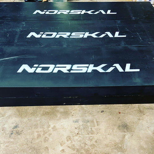 Bords d'attaques caoutchouc NORSKAL 50x20x80mm