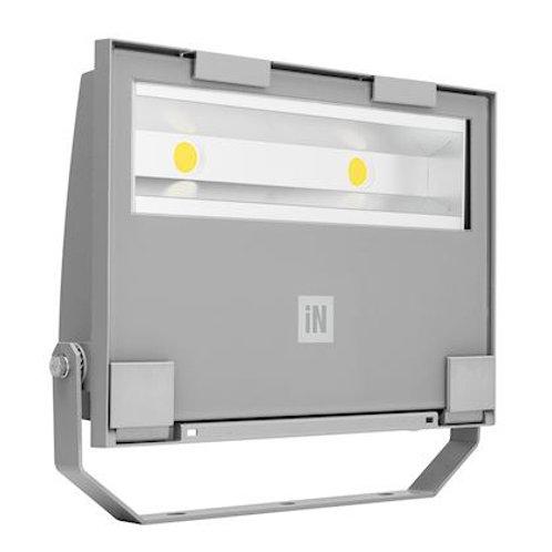 GUELL 2/S/W, projecteur LED symétrique EXTENSIF IP66-IK07-78W-9520lm-4000K