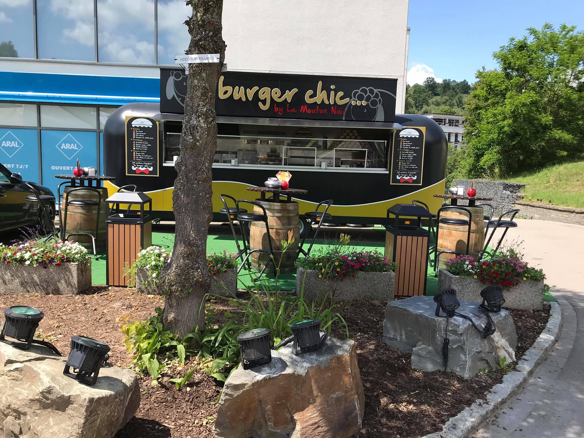 Le Burger chic