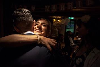 Bride Embrace