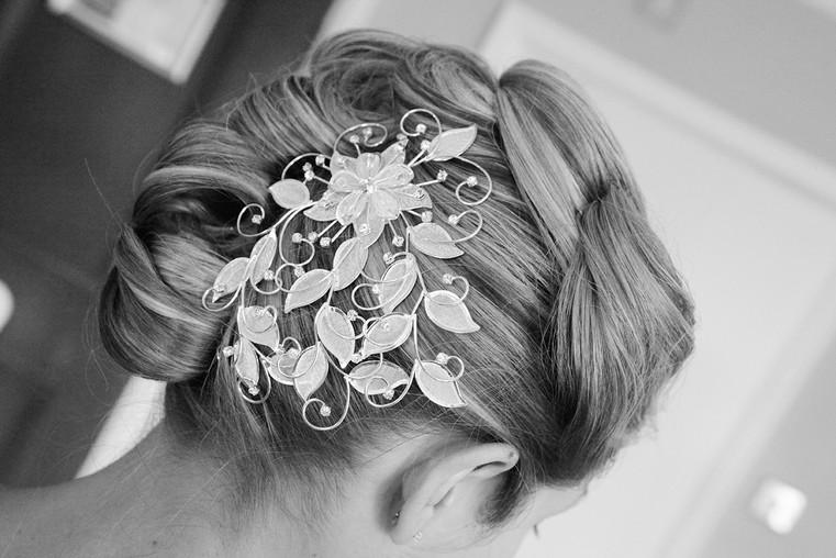 Wedding Hair Detail