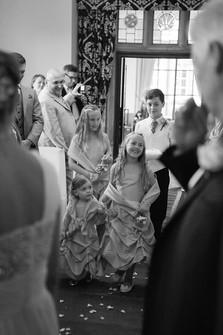 Wedding Party aisle walk