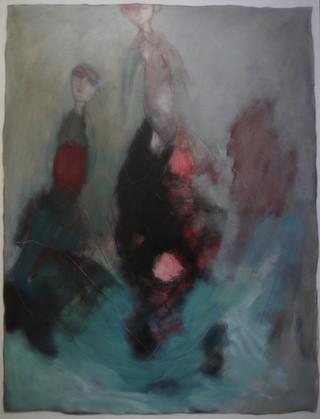femme-paysage au dessus des abysses(97x1